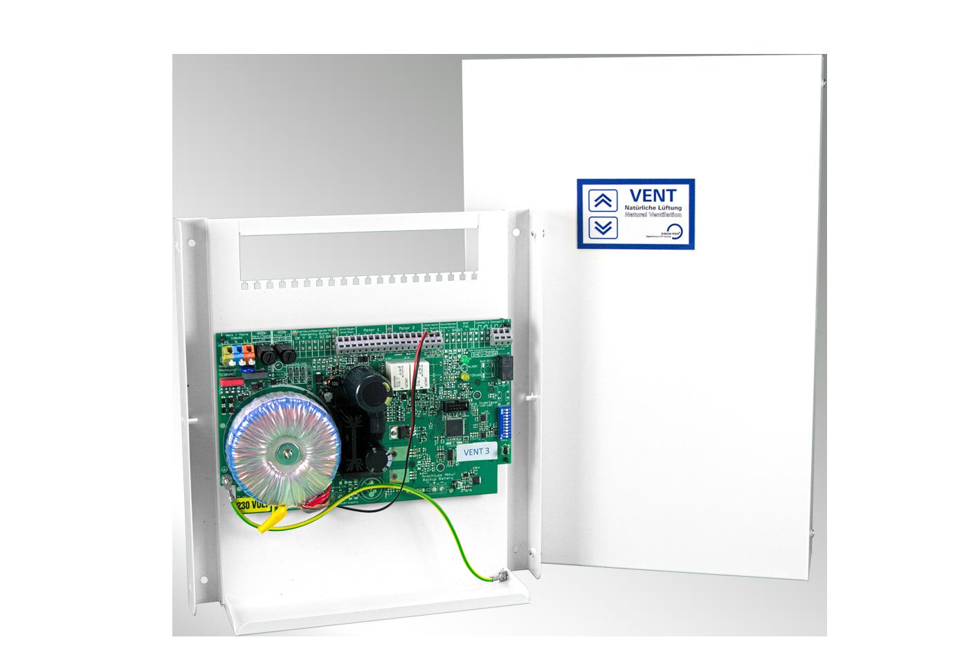 Controlled Ventilation - VENT 3/6 ventilation panel