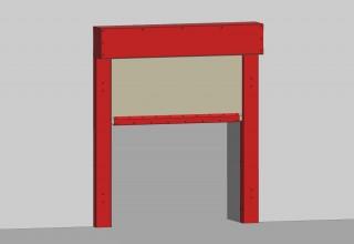 New Fire Curtain Fire PROtec² - E120 EW30 C2