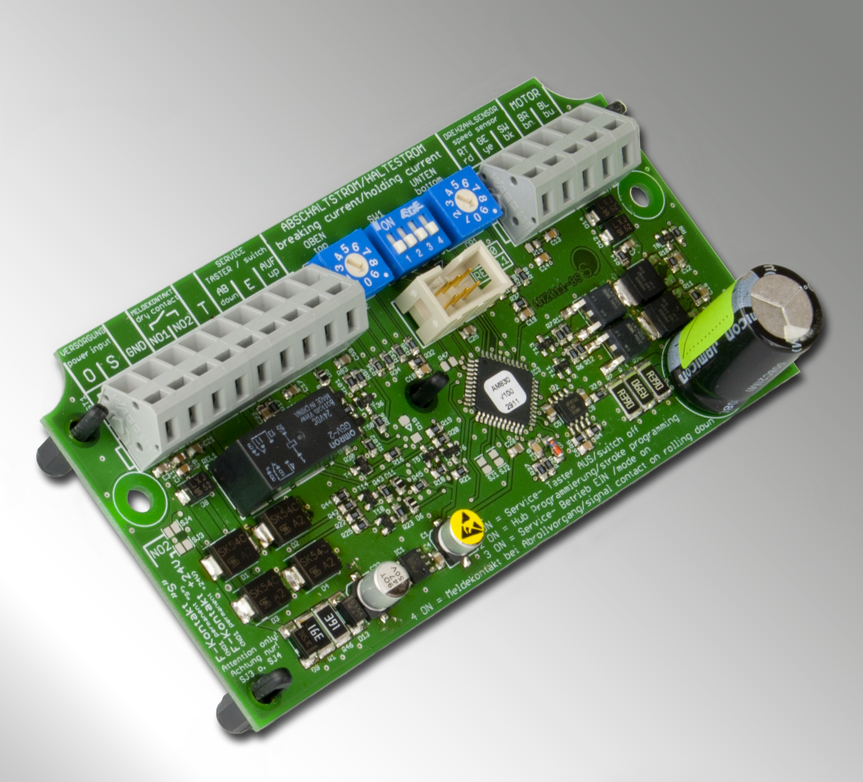 New control electronics AM-830 for Smoke PROtec® and Fire PROtec® curtain systems