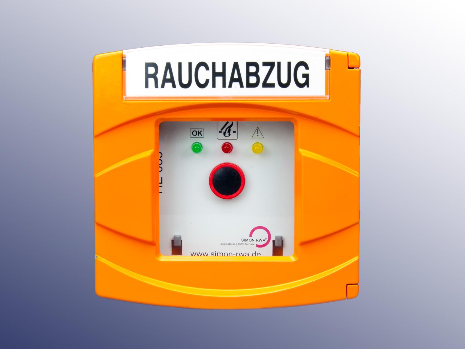 Emergency switch in aluminium