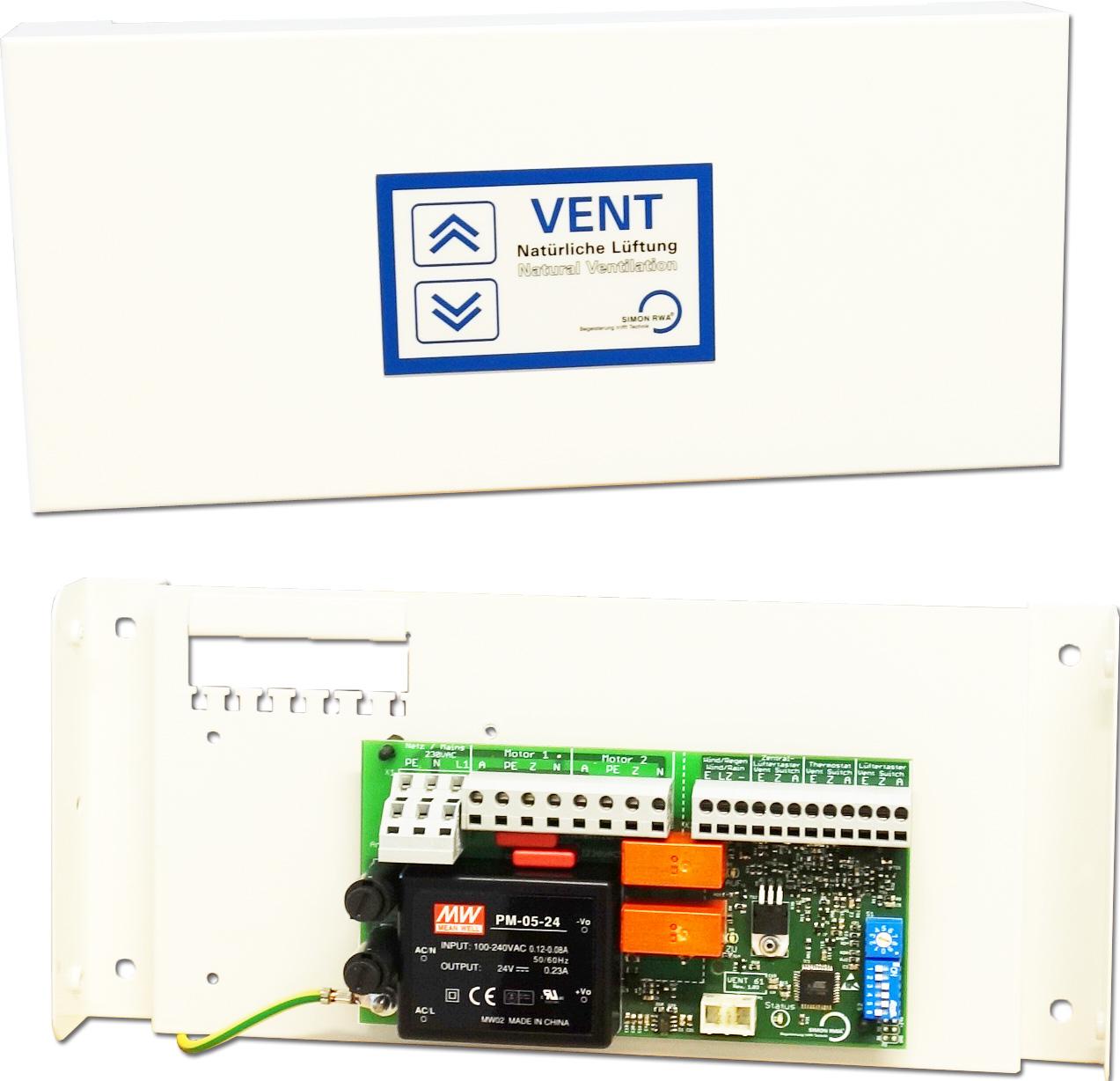 Compact control unit VENT-61-AP