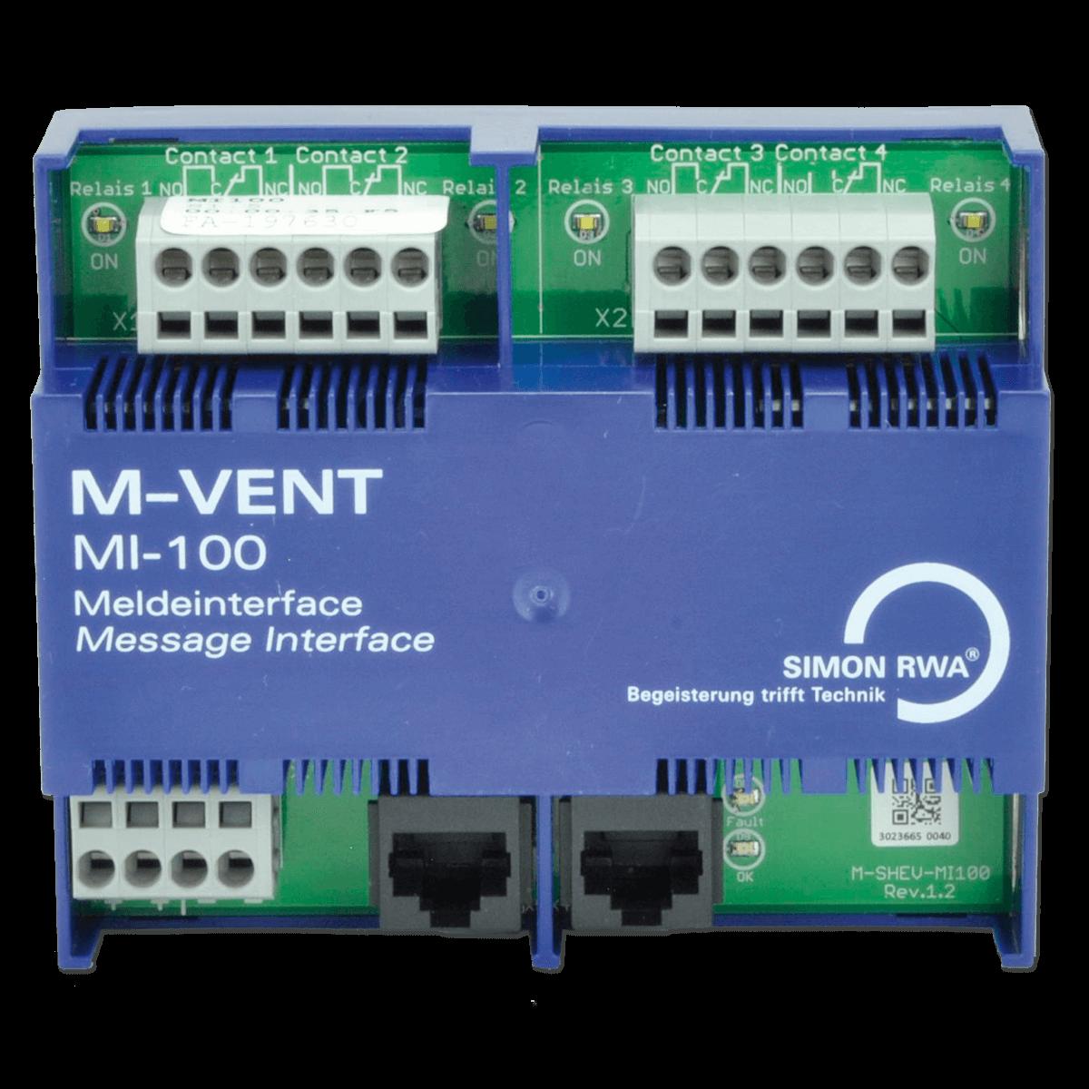 MI-100 Module M-VENT